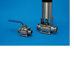 ENCAPSULATED 3-WAY BALL, HYGIENIC/ STAINLESS STEEL/ BUTT WELD. RJT, IDF, CLAMP, ILC AND DIN ALL AVAILABLE-0