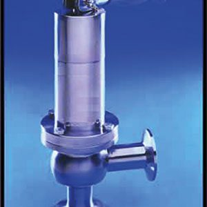 PRESSURE RELIEF, HYGIENIC/ STAINLESS STEEL/ PLAIN ENDED, FULL BORE/ AIR OPERATED -0
