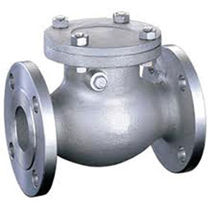 SWING CHECK/ STAINLESS STEEL/ FLANGED ANSI 150 RF-0