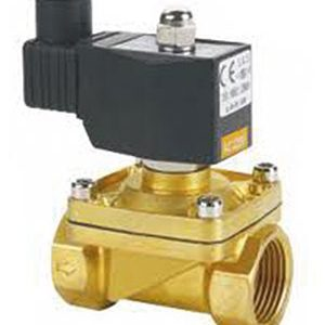 SOLENOID 2/2 WAY NORMALLY CLOSED/ BRASS/ SCREWED BSP FEMALE-0