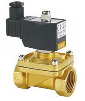 SOLENOID 2/2 WAY NORMALLY CLOSED/ BRASS/ SCREWED BSP FEMALE -0