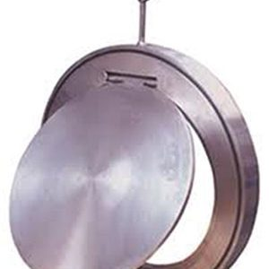 SWING CHECK WAFER TYPE/ CARBON STEEL, ZINC PLATED/ TO SUIT PN10/16 FLANGES -0