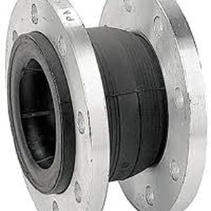RUBBER EXPANSION JOINT/ EPDM WITH GALVANISED STEEL FLANGES/ FLANGED PN10/16-0