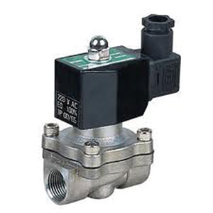 SOLENOID VALVE NORMALLY CLOSED/ STAINLESS STEEL/ SCREWED NPT -0