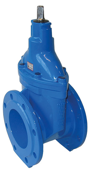 GATE VALVE BS5163 DUCTILE IRON, EPOXY COATED / FLANGED PN10/16 CAP TOP-0