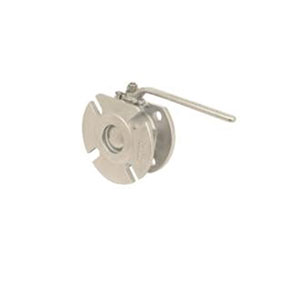 BALL, FULL BORE/ STAINLESS STEEL/ PN16/40 INLET, SLOTTED OULTLET TO SUIT ANSI 150, TABLE H, PN16/40 -0