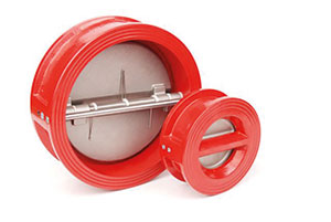DOUBLE DOOR CHECK VALVE / CAST IRON BODY, STAINLESS STEEL DISC / WAFER TO SUIT ANSI 125-0