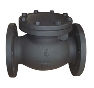 SWING TYPE CHECK/ CAST IRON/ CAN BE DRILLED TO SUIT PN10/16, ANSI 150, TABLE D/E, JIS 5K/10K -0