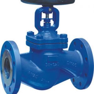 GLOBE BELLOW SEAL TYPE / CAST IRON / FLANGED PN16-0