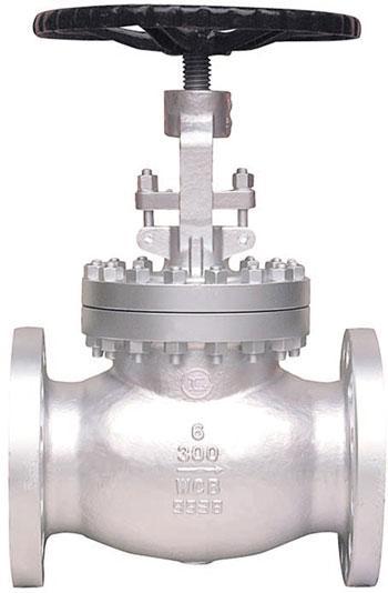 GLOBE / CAST STEEL WCB / FLANGED ANSI 300 RF-0