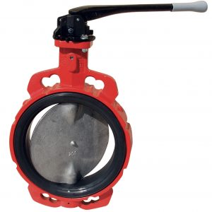 GGG40 LLOYDS APPROVED EUROPEAN WAFER BUTTERFLY VALVE-0