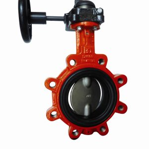 GGG40 EUROPEAN LUGGED PN16 BUTTERFLY VALVE EPDM LINER-0