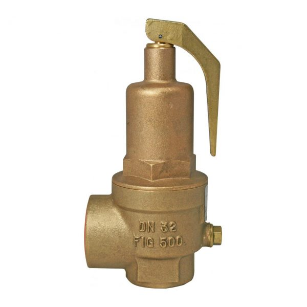 """NABIC FIG 500 HIGH LIFT SAFETY RELIEF VALVE. PLEASE NOTE - VALVES SET AT A SPECIFIC PRESSURE? ADD ITEM CODE """"NABIC SET"""" -0"""