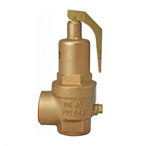 """NABIC FIG 542 SAFETY RELIEF VALVE. PLEASE NOTE - VALVES SET AT A SPECIFIC PRESSURE? ADD ITEM CODE """"NABIC SET"""" TO CART-0"""