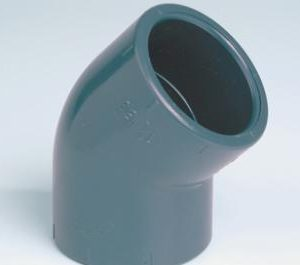 EFFAST PVCU SOLVENT CEMENT FITTINGS ELBOW 45 DEGREES RFAGYA-0