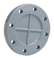 EFFAST PVCU SOLVENT CEMENT FITTINGS METRIC BLANKED FLANGE RFIFCI-0