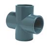 EFFAST PVCU SOLVENT CEMENT FITTINGS METRIC CROSS 90 DEGREES PLAIN RFICXI-0