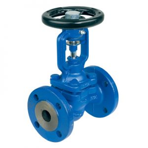 TLV CAST STEEL BELLOWS SEALED GLOBE VALVE FLANGED PN40 BE8H-40-0