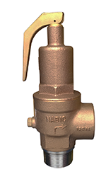 """NABIC FIG 500SS HIGH LIFT SAFETY RELIEF VALVE. PLEASE NOTE - VALVES SET AT A SPECIFIC PRESSURE? ADD ITEM CODE """"NABIC SET"""" -0"""