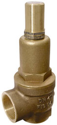 """NABIC FIG 542L SAFETY RELIEF VALVE. PLEASE NOTE - VALVES SET AT A SPECIFIC PRESSURE? ADD ITEM CODE """"NABIC SET"""" TO CART-0"""