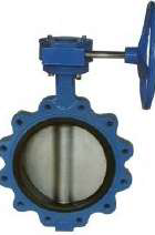 VS TECH LUGGED BUTTERFLY VALVE, DUCTILE IRON BODY, STAINLESS STEEL DISK, EPDM LINER, WRAS APPROVED, LEVER OPERATED-0
