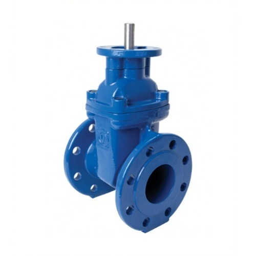 GATE VALVE BS5163 DUCTILE IRON, EPOXY COATED / FLANGED PN10/16 ISO TOP-0